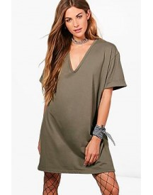 Nadia Oversized Box Tee Dress afbeelding