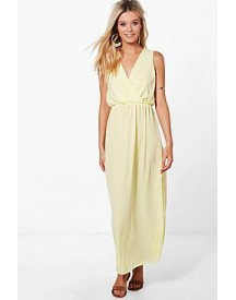 Nadia Wrap Maxi Dress afbeelding
