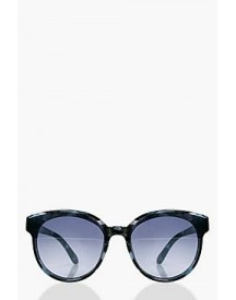 Nancy Smoke Lens Round Sunglasses afbeelding