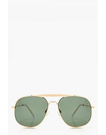 Natalia Retro Square Metal Sunglasses afbeelding