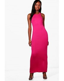 Niamh Racer Front Maxi Dress afbeelding