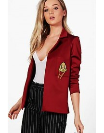 Olivia Badge Tailored Blazer afbeelding