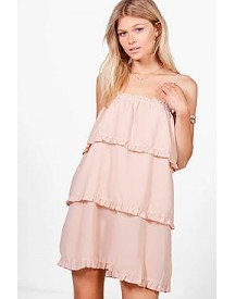 Petite Holly Strappy Tier Sundress afbeelding