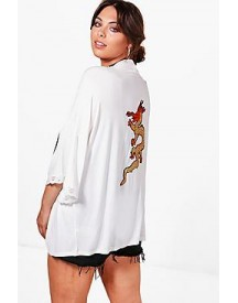 Plus Harriet Embellished Kimono Jacket afbeelding