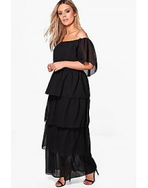 Plus Katrina Layer Maxi Dress afbeelding