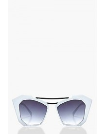 Rachel Double Bar Statement Sunglasses afbeelding