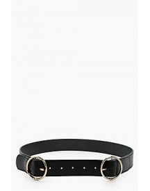 Rosie Double Ring Buckle Boyfriend Belt afbeelding