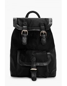 Ruby Nylon Buckle Pocket Rucksack afbeelding