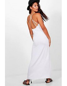Sarah Strappy Back Maxi Dress afbeelding