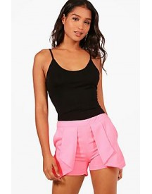 Sonia Pleat Front Shorts afbeelding
