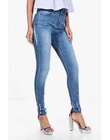 Tall Mary Distressed Skinny Jean afbeelding