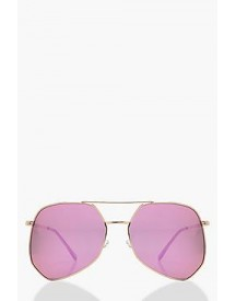 Tilly Angular Aviator Sunglasses afbeelding