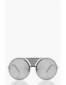 Violet Metal Bridge Detail Sunglasses afbeelding
