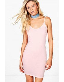 Zoe Strappy Bodycon Dress afbeelding