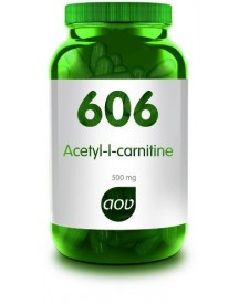 606 Acetyl L-carnitine 500 Mg afbeelding