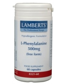 L-phenylalanine 500 Mg afbeelding