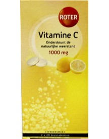 Vitamine C 1000mg Citroen Duo afbeelding