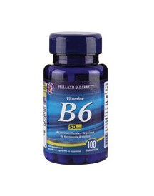 Holland & Barrett Vitamine B6 50mg afbeelding