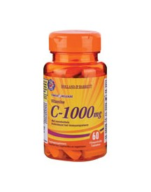 Holland & Barrett Vitamine C Timed Release 1000mg 60 Tabletten afbeelding