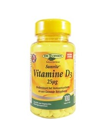 Holland & Barrett Vitamine D3 25mcg 100 Tabletten afbeelding