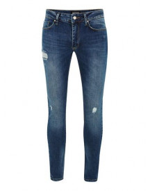 Antioch Dark Blue Spray On Skinny Jeans* afbeelding