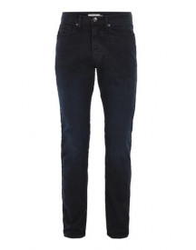 Blue Overdyed Stretch Slim Jeans afbeelding