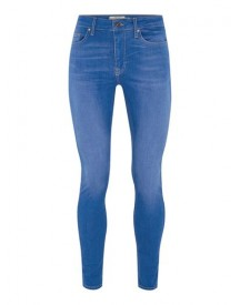 Bright Blue Spray On Jeans afbeelding
