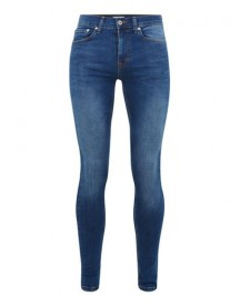 Bright Blue Super Spray On Jeans afbeelding