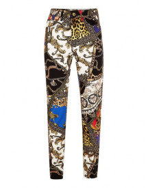 Jaded Multicoloured Clash Denim Jeans* afbeelding