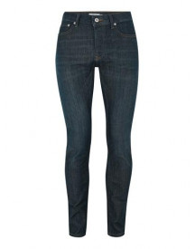Light Blue Coated Stretch Skinny Jeans afbeelding