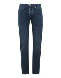 Mid Blue Wash Stretch Slim Jeans afbeelding