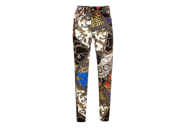 Image Jaded Multicoloured Clash Denim Jeans*