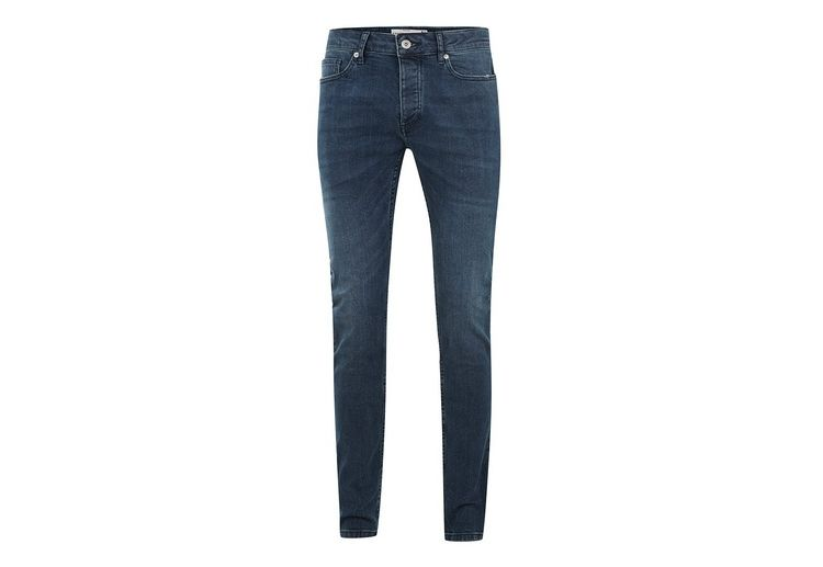 Image Mid Blue Wash Stretch Skinny Jeans