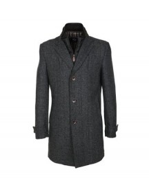 Suitable Coat Herring Antraciet afbeelding