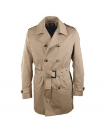 Suitable Trenchcoat Khaki Zavier afbeelding