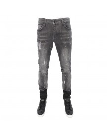 My Brand Jack 027 Grey Spotted Jeans Heren afbeelding