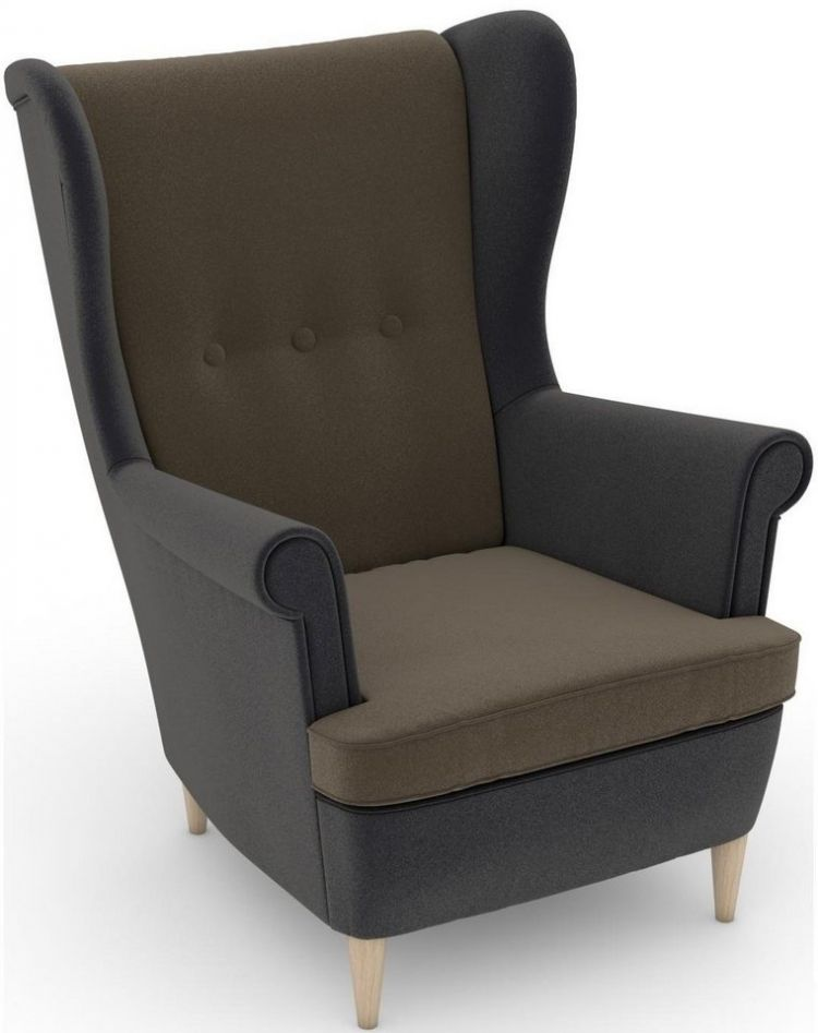 Image Max Winzer® Build-a-chair Oorfauteuil Casimir In Winchester-look, Om Zelf Te Stylen