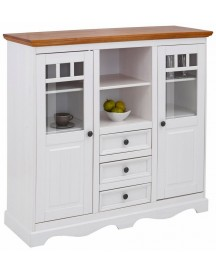 Home Affaire Highboard Melissa, Breedte 132 Cm afbeelding