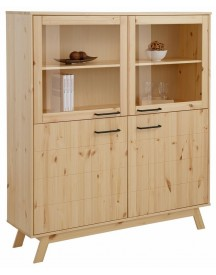 Home Affaire Highboard New Nordic, Breedte 130 Cm afbeelding
