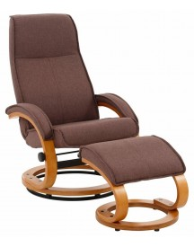 Home Affaire Relaxfauteuil & Hocker Paris afbeelding
