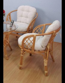 Home Affaire Rotan-fauteuil In Set Van 2 afbeelding