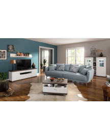 Premium Collection By Home Affaire Tv-meubel Delice, Landhuisstijl, Soft-close, Breedte 163 Cm. afbeelding