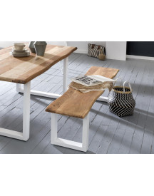 Premium Collection By Home Affaire Zitbank Manhattan In Schaaldelen-look En Met U-vormig Frame afbeelding