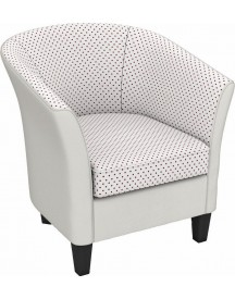 Max Winzer® Build-a-chair Cocktailfauteuil 'luisa' In Rond Model, Om Zelf Te Stylen afbeelding