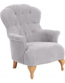 Max Winzer® Chesterfield Fauteuil 'clara', Met Chique Capitonnage afbeelding