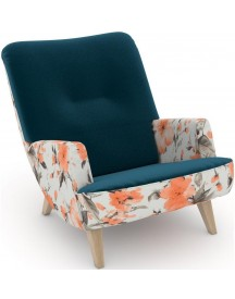 Max Winzer® Build-a-chair Loungefauteuil Borano In Retro-look, Om Zelf Te Stylen afbeelding