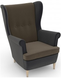 Max Winzer® Build-a-chair Oorfauteuil Casimir In Winchester-look, Om Zelf Te Stylen afbeelding