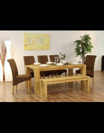 Premium Collection By Home Affaire Tafel Big Oak afbeelding