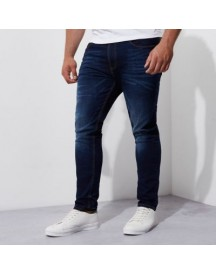 Big And Tall - Sid - Blauwe Skinny Jeans afbeelding