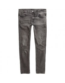 Danny - Zwarte Washed Ripped Superskinny Jeans afbeelding